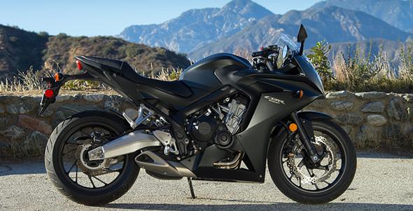 Honda CBR650F - (Motorrad, Honda, Kawasaki)