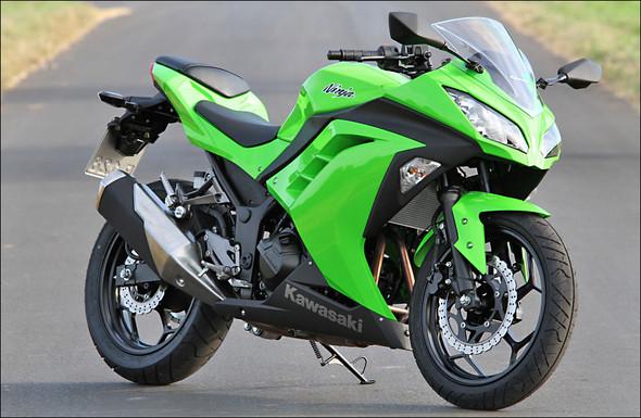 Kawasaki Ninja 300 - (Motorrad, Honda, Kawasaki)