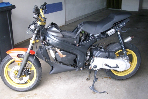 Kann mir jemand sagen von welchem Hersteller (Makre) dieses Moped ist?