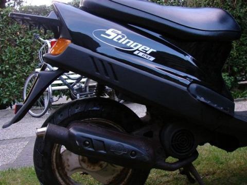 STINGER I-ONE - (Moped, Roller, 49ccm)