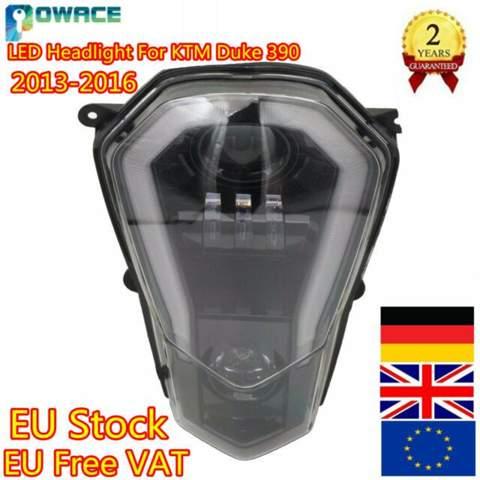 LED Scheinwerfer für KTM Duke 125 bj.16 legal?