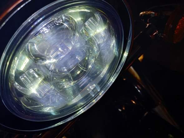 LED Scheinwerfer innen trüb - normal?