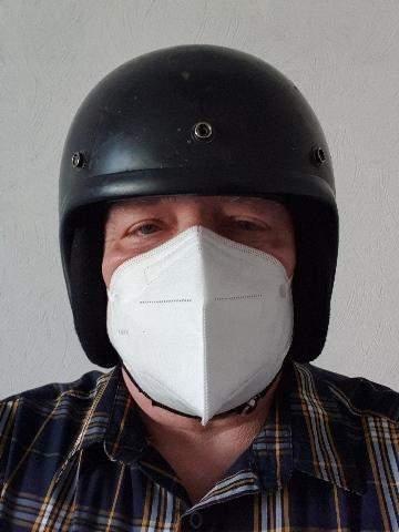 Maskenpflicht auf dem Motorrad?
