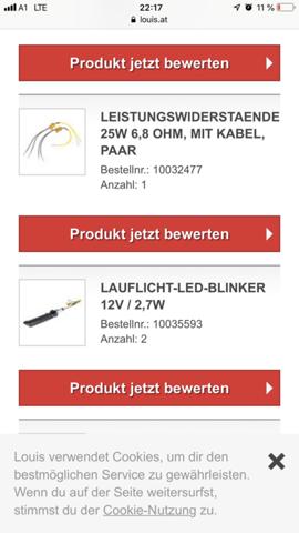 - (Motorrad, Elektronik, LED)