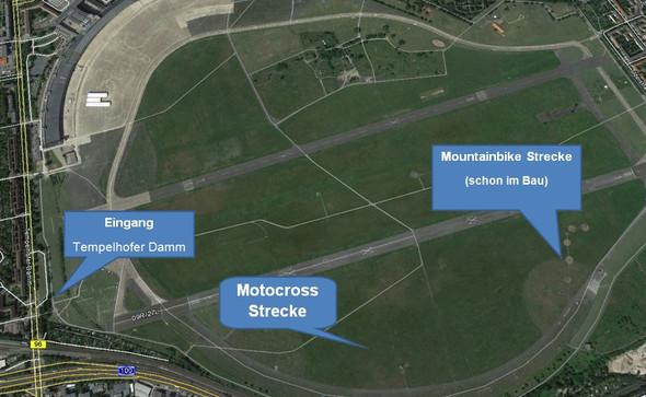 Tempelhof Cross1 - (Crossstrecke, Flug-Tempelhof)