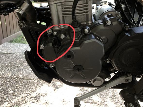 Ölstand bei der Aprilia SX 125 prüfen?