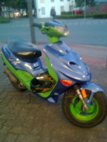Das ist mein Roller  - (Zweirad)