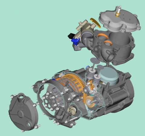 gasgas - (Motor, Ventil, GasGas)