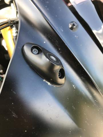 - (Yamaha YZF R125, Spiegel, Lenkerendenspiegel)