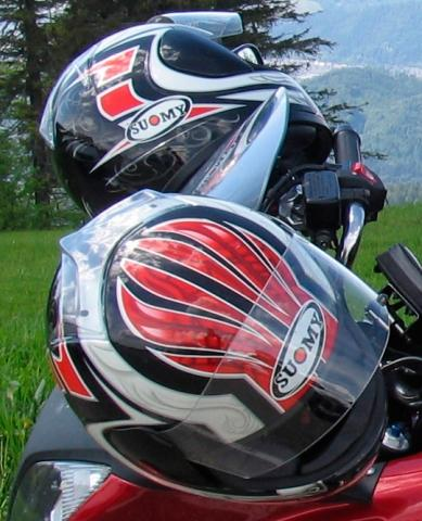 Bilduntertitel eingeben... - (Helm, motorradhelm, Suomy)