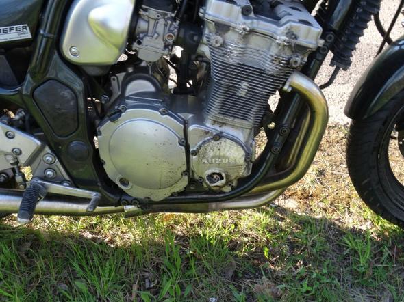 Unfallmotorrad Verkaufen oder reparieren? Bandit