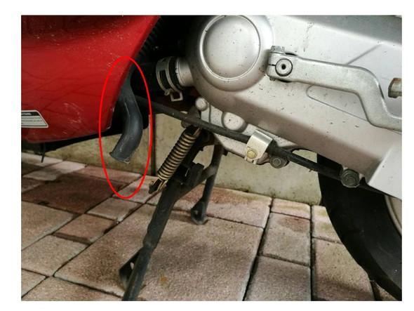 Bild 1 - (Motor, Schlauch, Kymco)