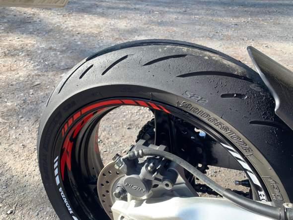 - (Motorrad, Reifen, Honda)