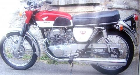 Schmuckstück - (erstes Motorrad, mit staatlicher Erlaubnis)