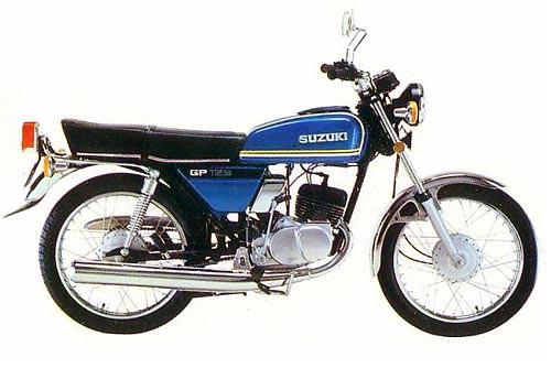 Wie viele Suzuki GP125 gibt es noch bei uns?