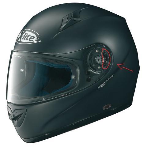 Das ist mein Helm, der markierte Schalter ist das Problem! - (X-Lite x-602, visier schalter, funktion knopf)