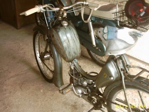 - (Moped, zündapp, Riemenantrieb)